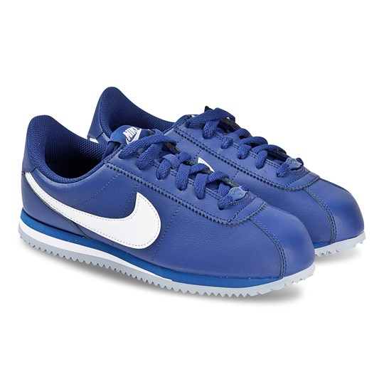 NIKE Blue Nike Cortez Basic Trainers 402