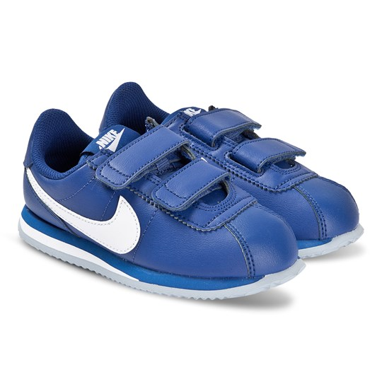 NIKE Blue Nike Cortez Basic 2V Trainers 402