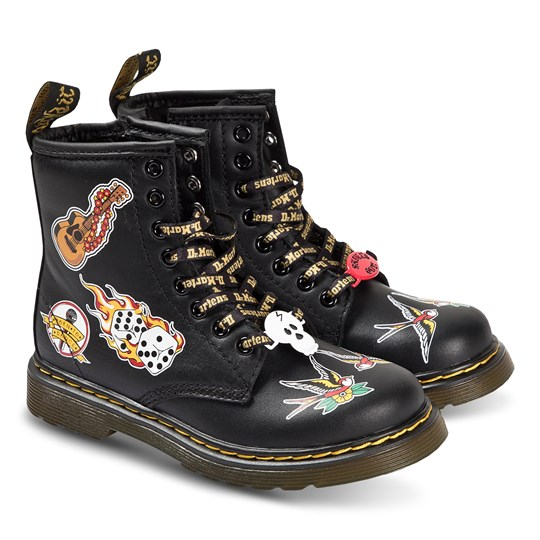 Dr. Martens Romario 1460 Patch Kängor Svart PATCH