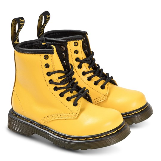 Dr. Martens Yellow 1460 Boots Yellow