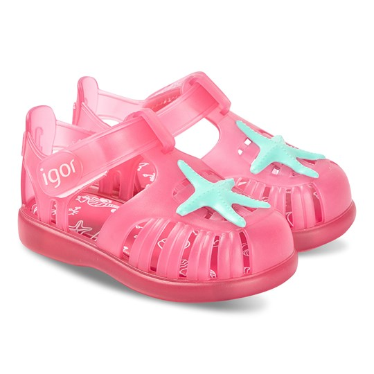 Igor Pink Star Tobby Jelly Sandals 046
