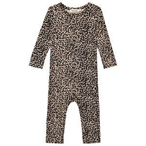 Image of MarMar Copenhagen Leopard One-Piece Brown Leo 6 mdr/ 68 cm (282987)