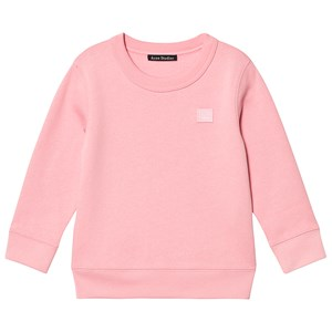 Image of Acne Studios Flag Fairview Sweatshirt Blush Pink 3-4 år (1414253)