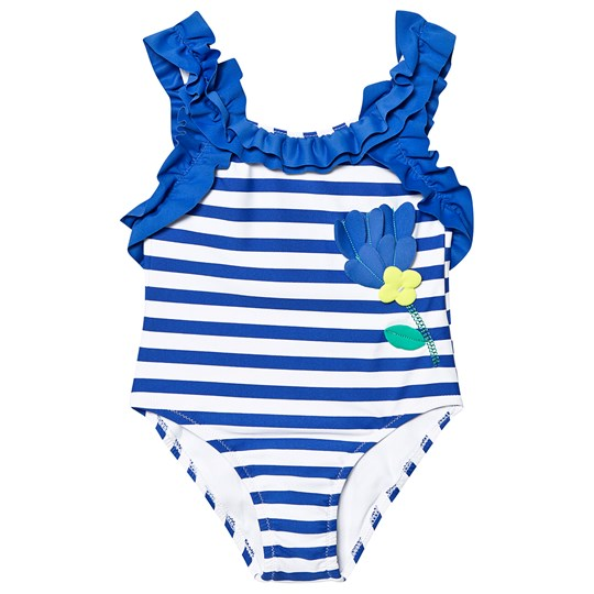 Mayoral Flower Swimsuit Dodger Blå 85