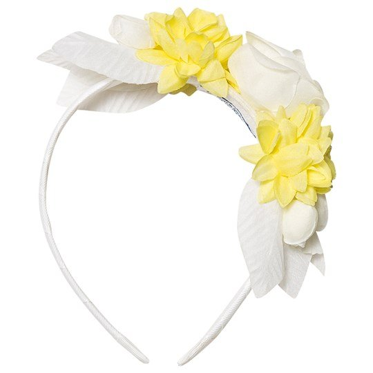 Mayoral Floral Hairband Off White 33