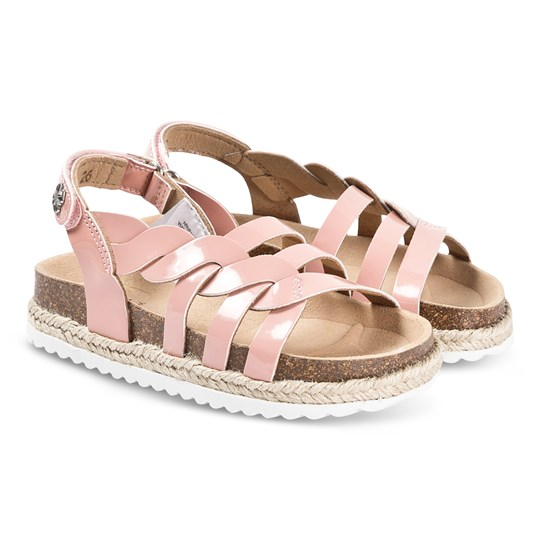 Mayoral Pink Patent Leather Sandals 71