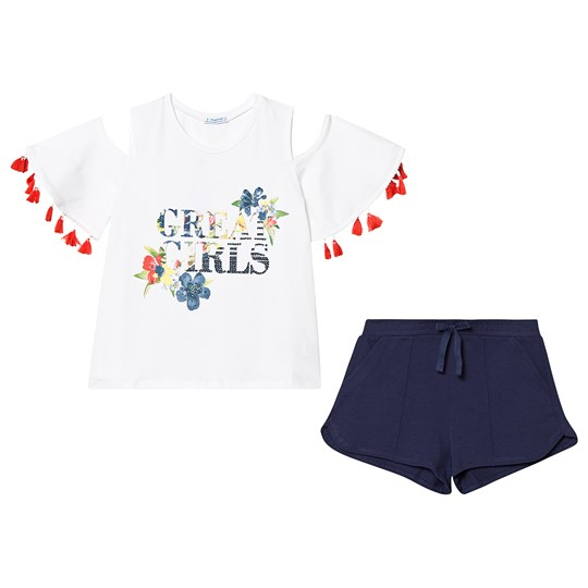 Mayoral Tassels T-shirt och Shorts Set Eclipse 80