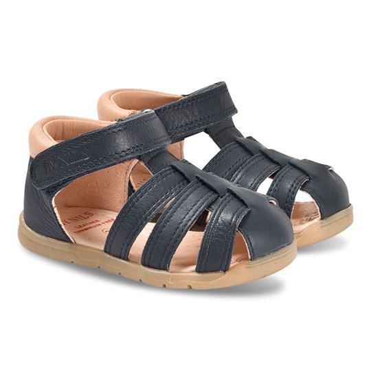 By Nils Siljan Sandals Navy