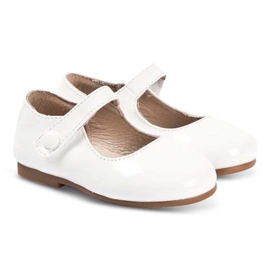 Livly Mary Janes in Ivory Ivory