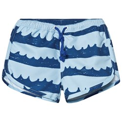nadadelazos Swimpants Sea Waves Blue