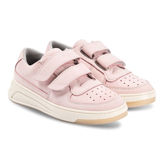 Acne Studios Steffey Sneakers Dusty Pink Lilac/White