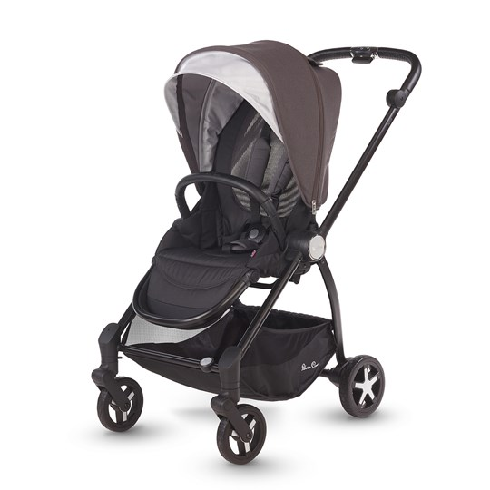Silver Cross Spirit Stroller Flint Brown Flint