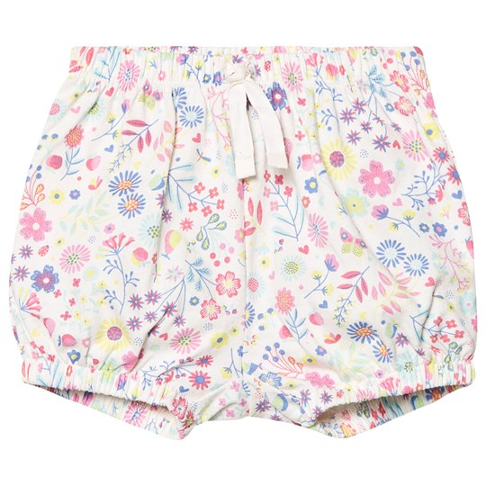 Gap Printed Bubble Shorts Daisy Floral Vit Daisy Floral White