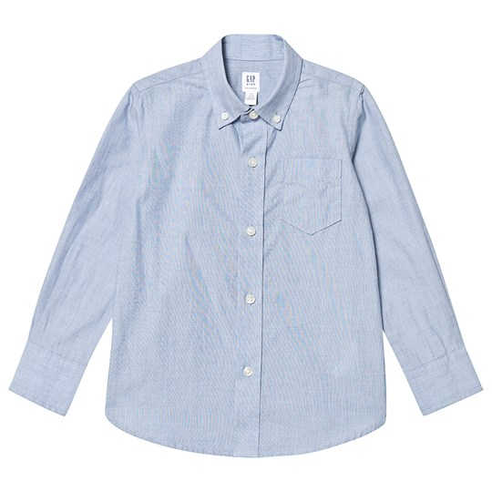 Gap Uniform Oxford Skjorta Blå LT BLUE EOE
