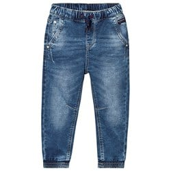 Mayoral Mid Wash Pull Up Cuff Jog Jeans
