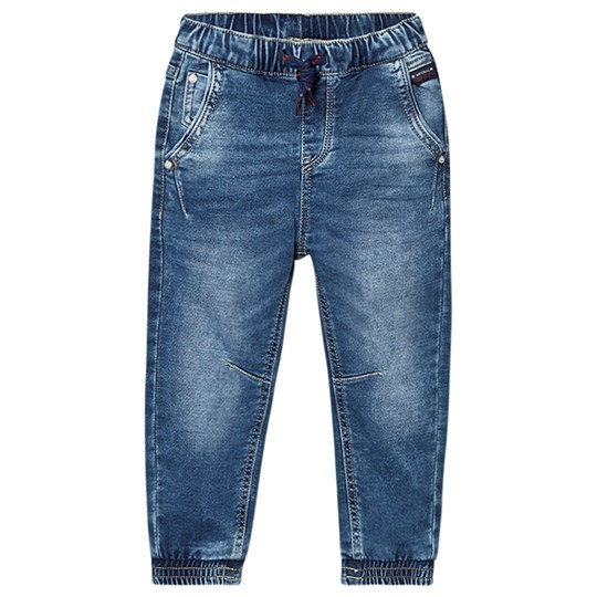 Mayoral Mid Wash Pull Up Cuff Jog Jeans 5