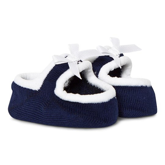 Mayoral Navy Knitted Sock Booties 84