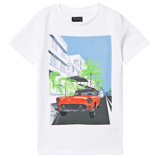 Mayoral Car Tee White 79