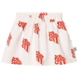 One Day Parade Ice Cream Skirt Off White/Red