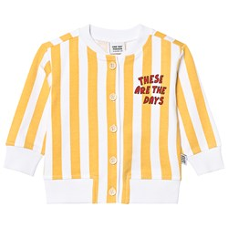 One Day Parade Stripe Cardigan Yellow