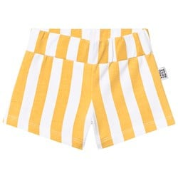One Day Parade Stripe Shorts Yellow