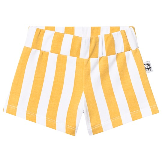 One Day Parade Stripe Shorts Yellow YELLOW STRIPE