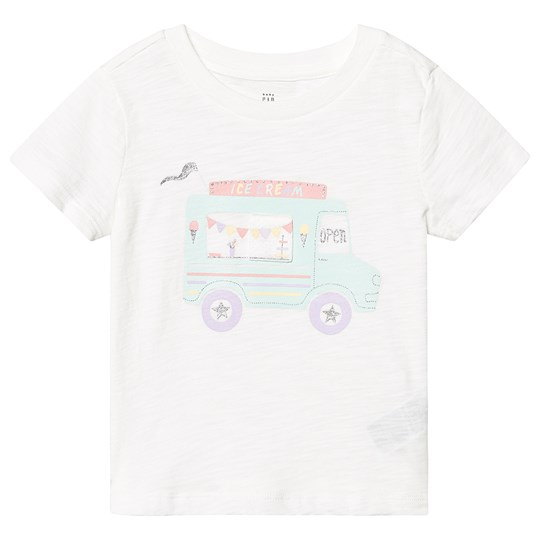 GAP Ice Cream Truck T-Shirt Off Hvid NEW OFF WHITE