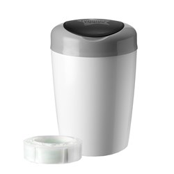 Tommee Tippee Simplee Sangenic Diaper Disposal Grey/White
