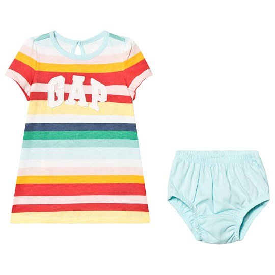 GAP Dress and Bloomers Multi Stripe MULTI STRIPE
