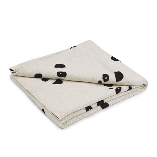 Liewood Kirsten junior blanket Panda beige beauty Beige