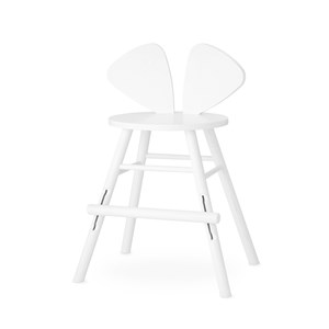 Image of Nofred Mouse Junior Chair White One Size (1397212)