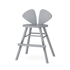 Image of Nofred Mouse Junior Chair Grey One Size (1397213)