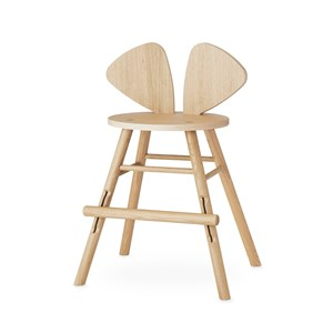 Image of Nofred Mouse Junior Chair Oak One Size (1397214)