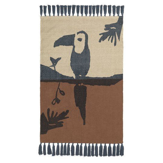 Nofred Toucan Rug Brown BROWN