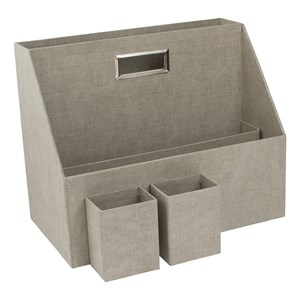 Image of Bigso Box of Sweden Hurry Portable Organizer Canvas Beige One Size (1405607)