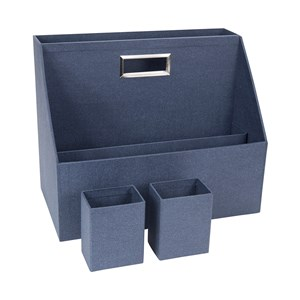 Image of Bigso Box of Sweden Hurry Portable Organizer Canvas Blå One Size (1405608)