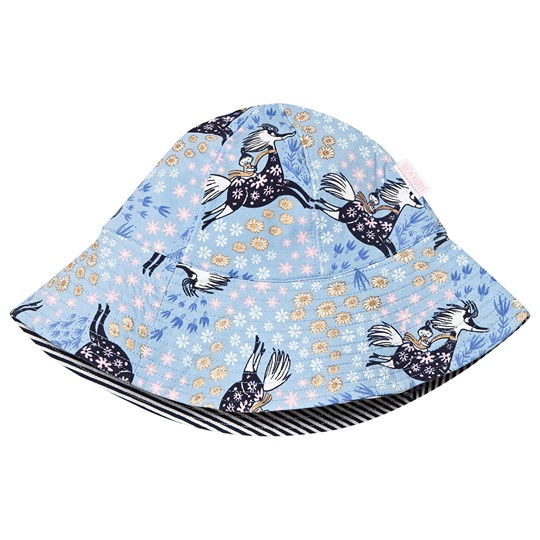 Moomin Floral Sun Hat Blue Blue