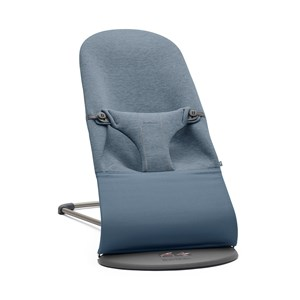 Image of Babybjörn Bliss Baby Bouncer Dove Blue/3D Jersey One Size (1422404)