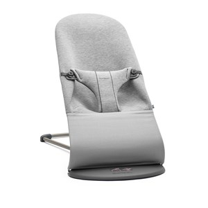 Image of Babybjörn Bliss Baby Bouncer Light Grey/3D Jersey One Size (1422405)