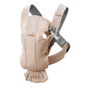Image of Babybjörn Baby Carrier Mini Pearly Pink/3D Mesh One Size (1422411)