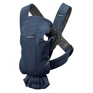 Image of Babybjörn Baby Carrier Mini Navy Blue/3D Mesh One Size (1422412)