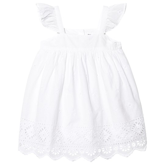 GAP Eyelet Dress Optic White OPTIC WHITE