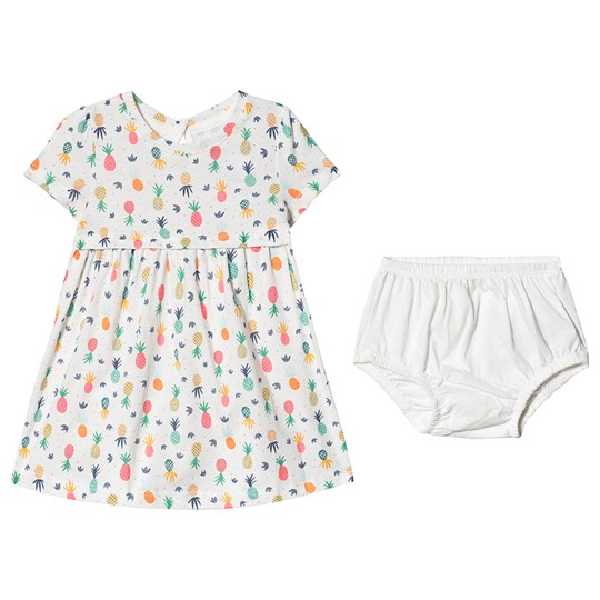 GAP Pineapple Dress New Off White NEW OFF WHITE