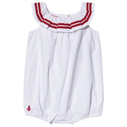 Ralph Lauren Sailor Romper White 001