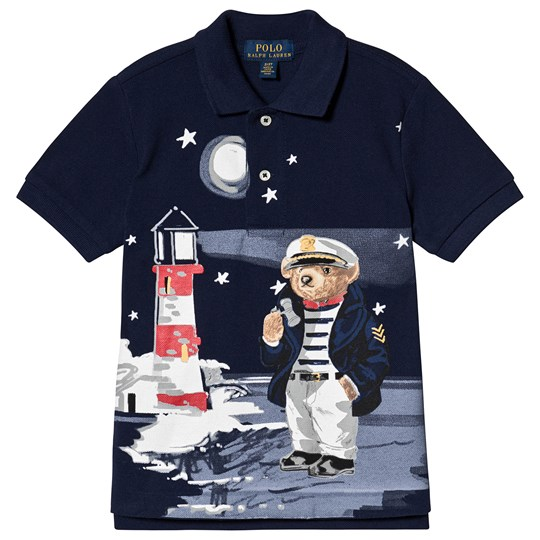 Ralph Lauren Bear Polo Navy 001