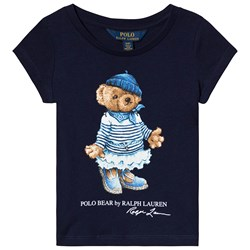 Ralph Lauren Bear Tee Navy