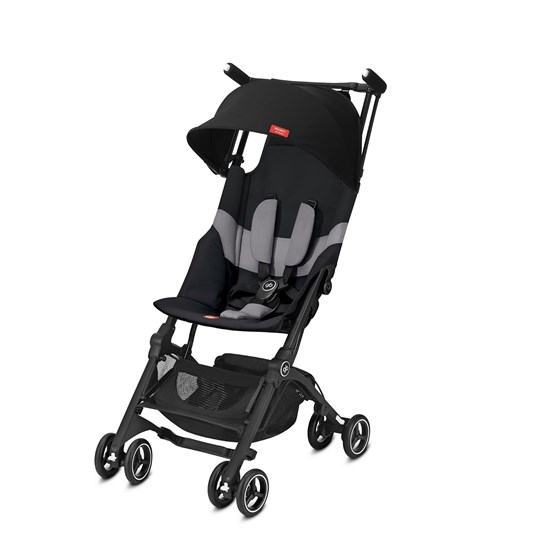 Goodbaby Pockit+ All Terrain Stroller Velvet Svart Black