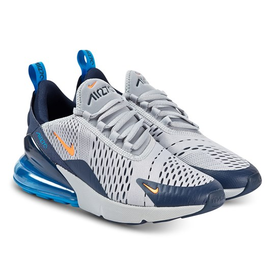 NIKE Air Max 270 Sneakers Varg Grå/Orange 015
