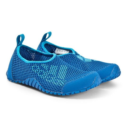 adidas Performance Blue Kurobe Slip On Shoe blue beauty/blue beauty/shock cyan