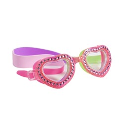 Bling2o Heart Swim Goggles Pink